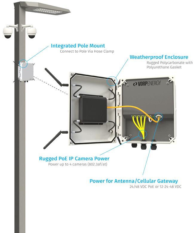 Vtap Light Pole Power Tap Kits Vorp Energy Msrp Starting