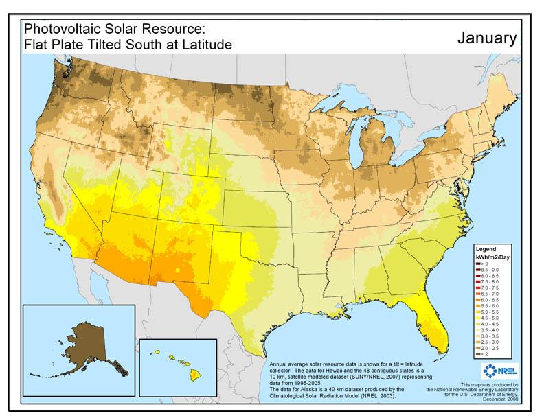 Solar Maps Vorp Energy - Solar map us