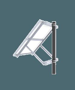 Vorp Energy Solar Panel Pole Mount