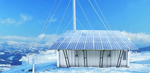 Grid Buster Placed in Polar Enviroment
