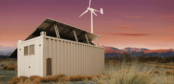 Grid Buster Placed in Desert Enviroment