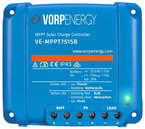 VE-MPPT 75 - 15 3 stage solar charge controller